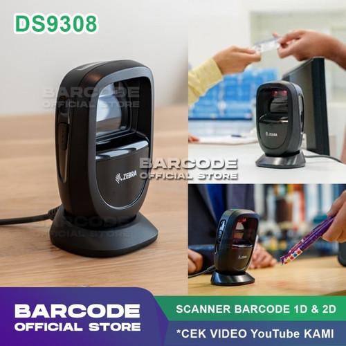Foto Produk SCANNER ZEBRA DS9308 / DS-9308 Scan Barcode 2D QR Code PDF417 Efaktur dari Barcode Official Store