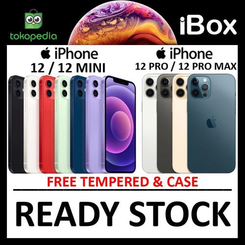 Foto Produk (IBOX) iPhone 12 / Pro / Max / Mini 64GB 128GB 256GB 512GB resmi TAM - 12 MINI 64GB dari Big Berry Cellular