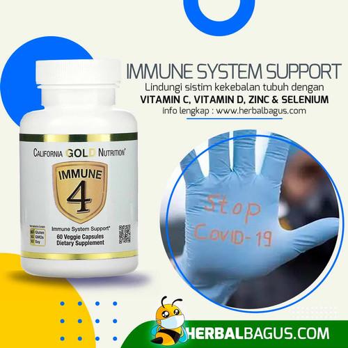 Foto Produk Immune 4, Supplement Sistem Kekebalan Tubuh Anda | Herbal Bagus dari herbalbaguscom