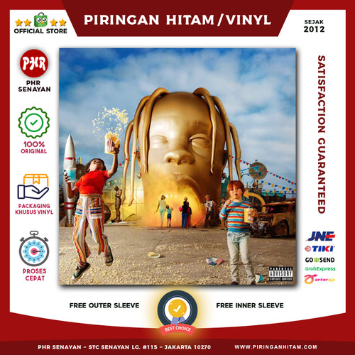 Foto Produk Vinyl TRAVIS SCOTT - Astroworld [Piringan Hitam/LP/PH] dari PHR Senayan