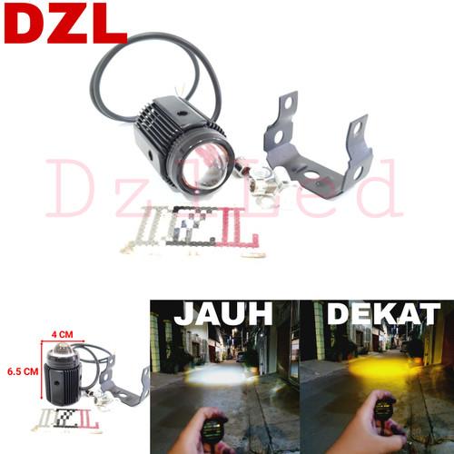 Foto Produk lampu tembak led foglamp laser d2 high low 2 warna jauh dekat dari DZL-Led