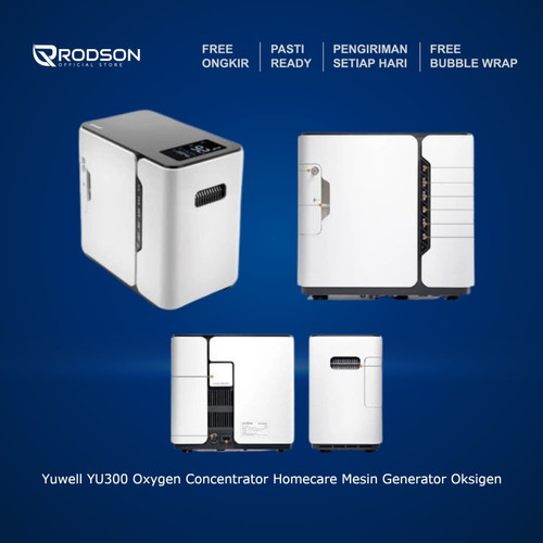 Foto Produk Yuwell YU300 Oxygen Concentrator Homecare Mesin Generator Oksigen dari RODSON Official Store