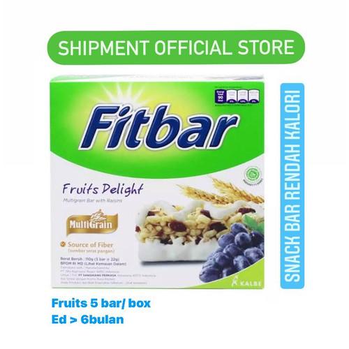 Foto Produk FITBAR MULTIGRAIN Nuts Fruits Chocolate Tiramisu Delight SNACK KALBE - FRUITS dari Shipment