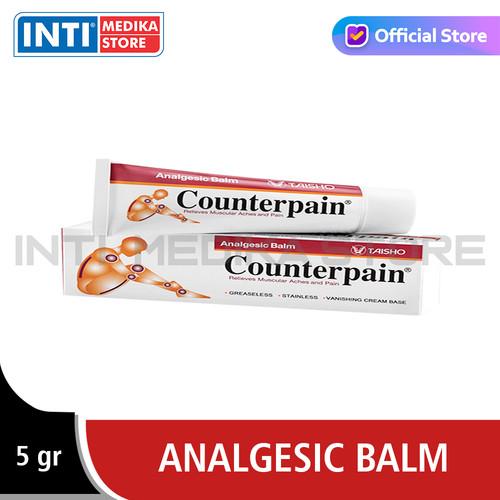 Foto Produk COUNTERPAIN - Krim Pereda Nyeri Sendi Otot   Counterpain Cool - Cream, 5gr dari INTI MEDIKA STORE