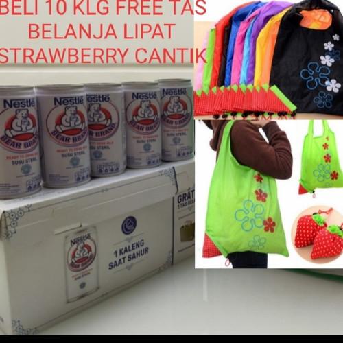 Foto Produk Susu Beruang Bear Brand isi 10 kaleng free 1 bh TAS BELANJA CANTIK dari Toko Good Bear
