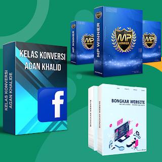 Foto Produk Kelas Konversi Agan Khalid - MP Winner - Bongkar Website Andi Digital dari Tombol Space