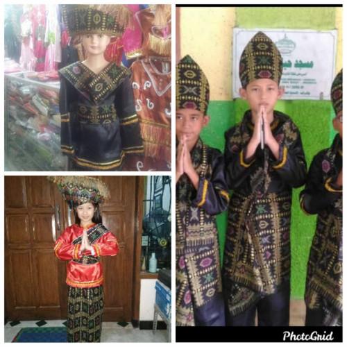 Foto Produk baju adat batak anak dari oreo bocimi