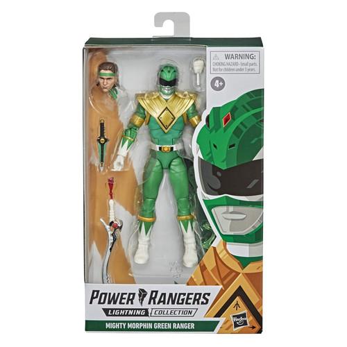 Foto Produk POWER RANGER LIGHTING COLLECTION - GREEN RANGER ORIGINAL HASBRO dari Charu Toys