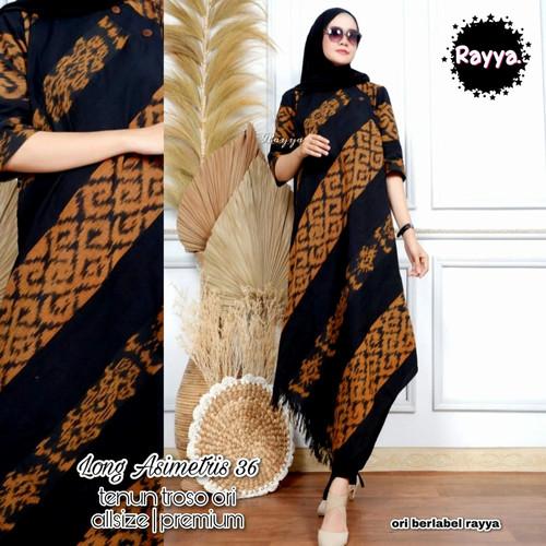 Foto Produk tunik long sabrina 91 ori tenun dari Jivan Batik