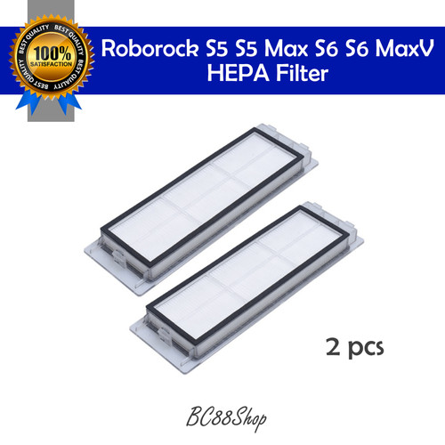 Foto Produk Roborock S5 Max S6 HEPA Filter (sparepart) - 2 pcs dari BC88Shop