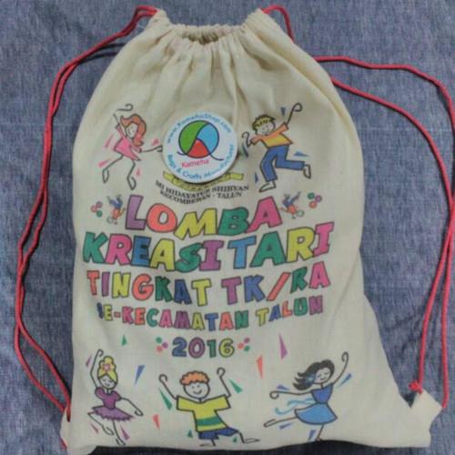 Foto Produk drawstring bag custom serut dari KamehaShop.com