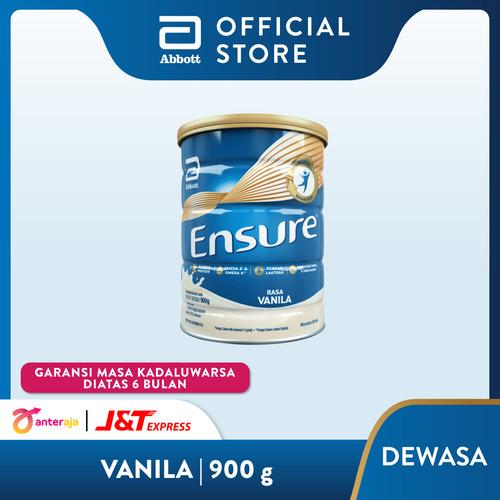 Foto Produk Ensure Vanila 900 g Susu Nutrisi Dewasa Rendah Laktosa dari Abbott Official Store