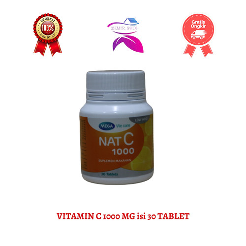 Foto Produk Nat C 1000 mg Mega We Care / Vitamin C 1000 dari Demir Shop