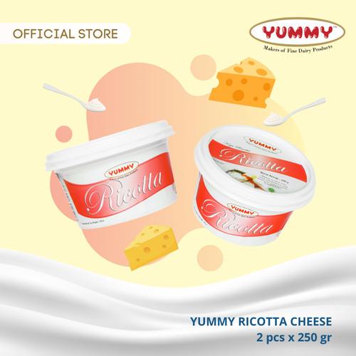 Foto Produk Yummy Ricotta Cheese 2 x 250g dari YUMMY Dairy
