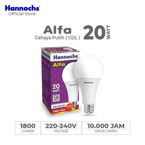 Foto Produk Hannochs - Lampu LED Alfa - 20 watt - cahaya Putih dari Hannochs Official Store