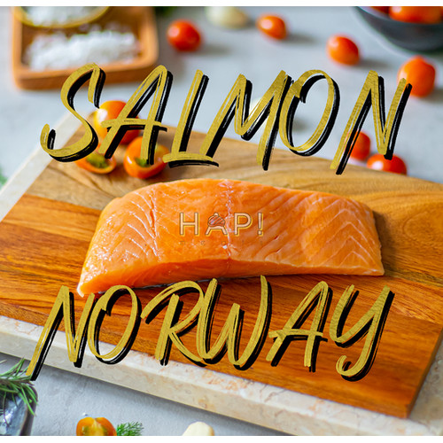 Foto Produk SALMON NORWAY 250GR dari Hap! meats