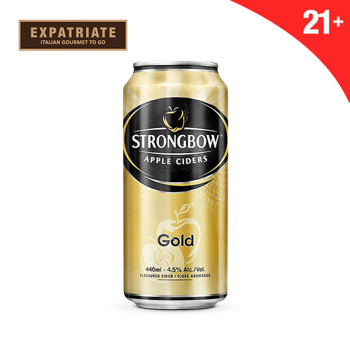 Foto Produk Strongbow Gold Apple Cider Can 250ml dari Expatriate Gourmet To Go