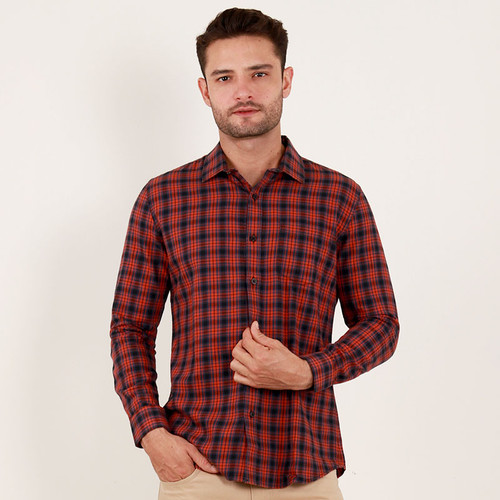 Foto Produk Edwin Jeans Flannel Shirt Adelard - Man - Merah, S dari Edwin Jeans