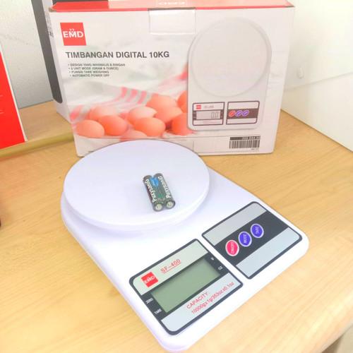 Foto Produk Timbangan Digital Presisi Kue Dapur Bahan Kitchen Scale Elektrik 10kg dari Grosir Kitchenware