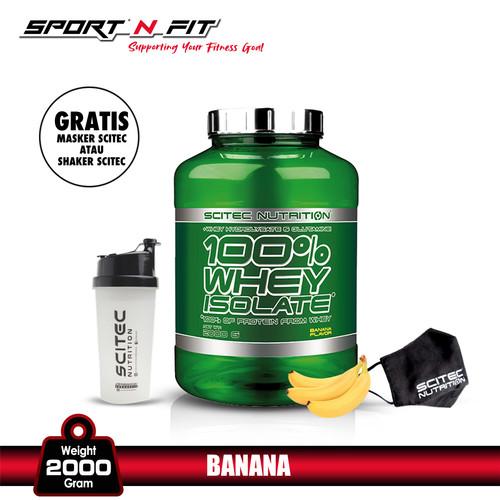 Foto Produk SCITEC WHEY ISOLATE 2000gr BANANA dari Sport N Fit