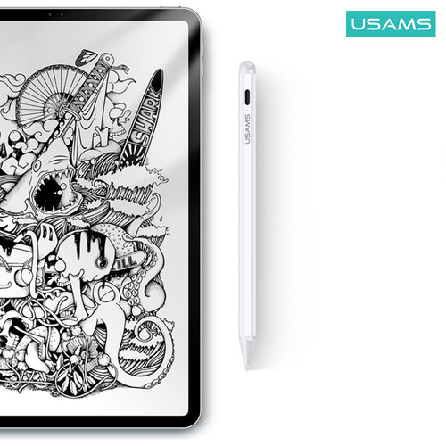 Foto Produk USAMS ZB135 TOUCH SCREEN CAPACITIVE STYLUS PENCIL FOR IPAD dari USAMS ID Official