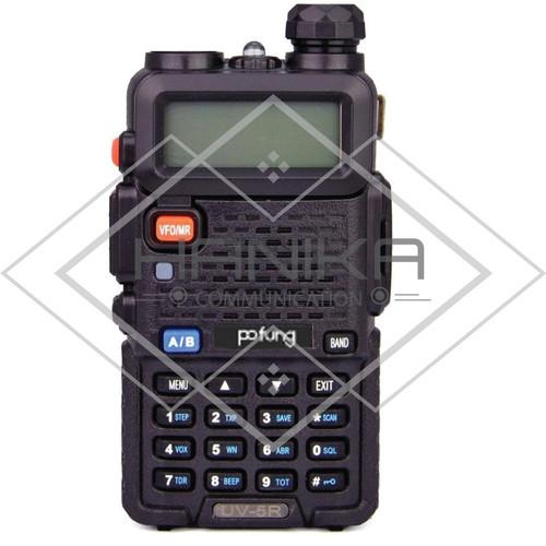 Foto Produk HT UV-5R Dual Band Baru Ori Garansi UV5 BF-UV5R BFUV5R Taf Baofeng - Pofung dari Hanika Communication