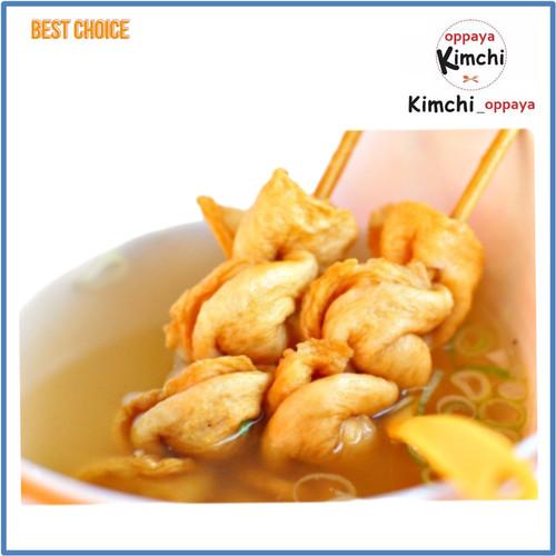 Foto Produk Original Odeng Eomuk 200 gram sets odeng sama saus Murah Enak dari kimchi oppaya