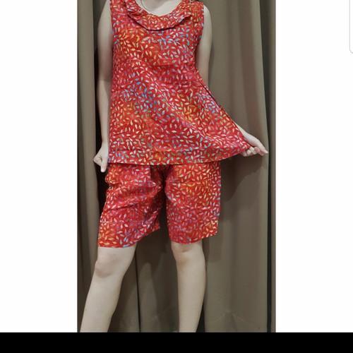 Foto Produk Baju Tidur Batik Anita Baby Doll Celana Pendek Size M Tanpa Lengan - M 2 dari nane.shop