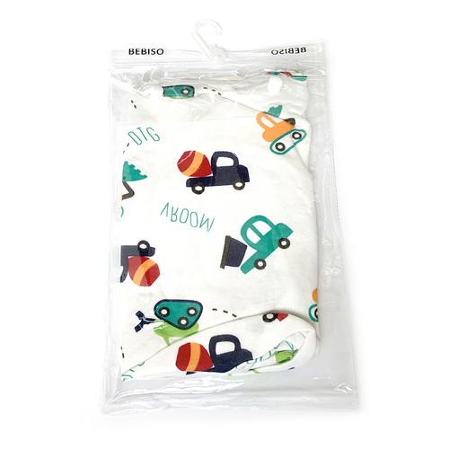 Foto Produk Bebiso Bedong Instan Bayi Swaddle Adjustable Infant Wrap Newborn - 12m - A3 dari Bebiso Official Shop