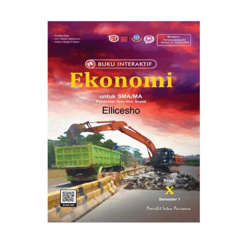 Foto Produk Buku PR Interaktif Ekonomi kelas 10/X, Semester 1, Intan Pariwara - Tanpa kardus dari Ellice Shop