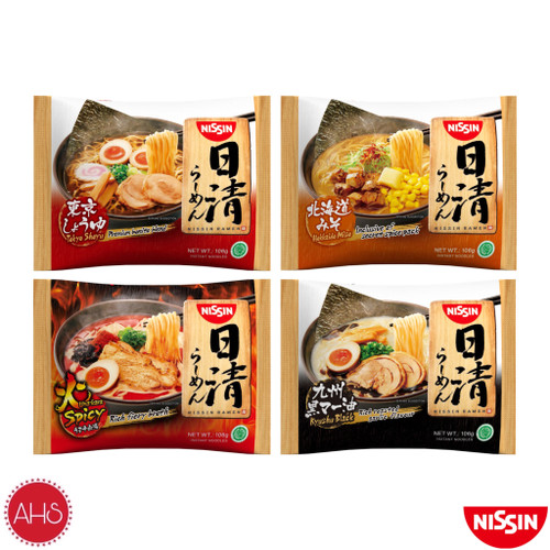 Foto Produk NISSIN Instant Japanese Ramen 106g [ SATUAN ] - Kyushu [S] dari AHS store ID