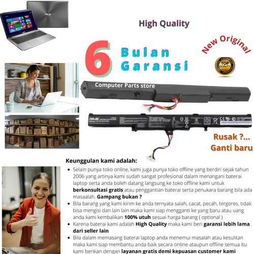 Foto Produk Baterai Asus ROG FX553V-DDM1025T original product dari Toko partlaptop notebook