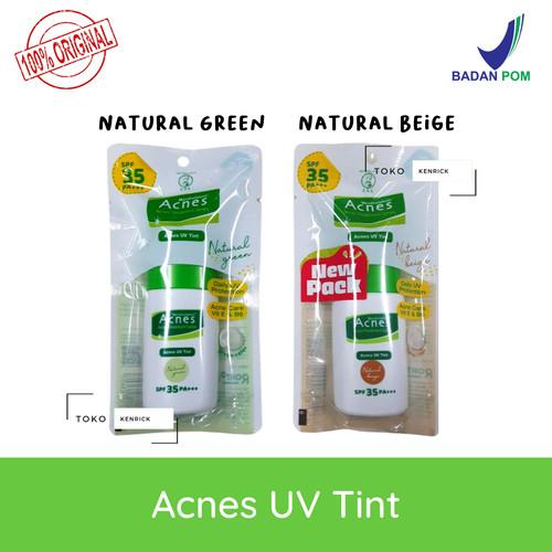 Foto Produk Acnes UV Tint SPF 35 PA+++ 30gr - Sun Screen / Sun Block - Natural Green dari Toko Kenrick