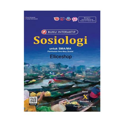 Foto Produk Buku PR Interaktif Sosiologi kelas 10/X, Semester 1, Intan Pariwara - Tanpa kardus dari Ellice Shop