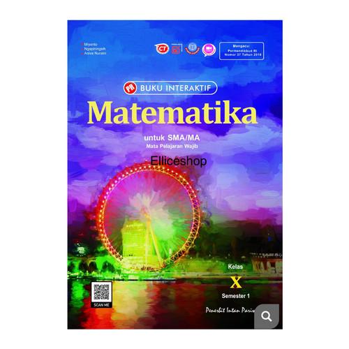 Foto Produk Buku PR Interaktif Matematika Wajib kls 10/X, SMT 1, Intan Pariwara - Tanpa kardus dari Ellice Shop