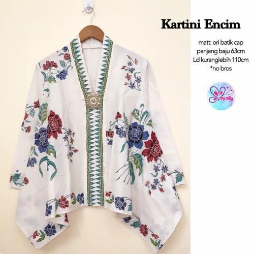 Foto Produk blus paris batik sogan dari Jivan Batik