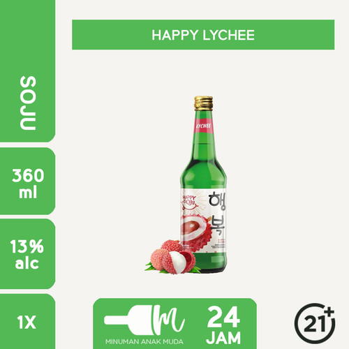Foto Produk Soju Happy Soju All Variant - LECI dari Minuman Anak Muda 24 Jam