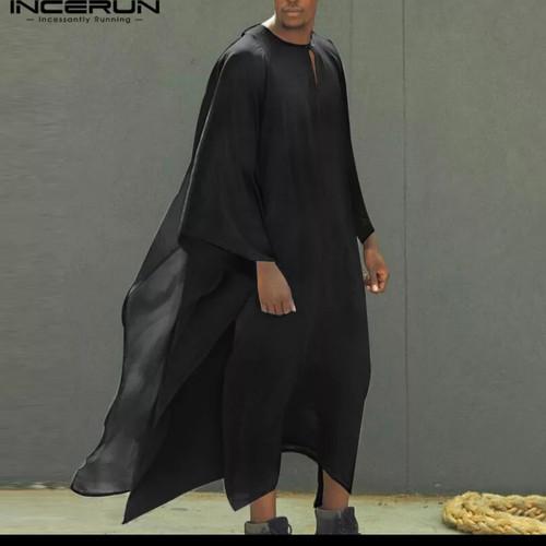 Foto Produk flowing kaftan moeslim jubbah / baju gamis muslim jubah kurta arab dari Kuro-Shiro