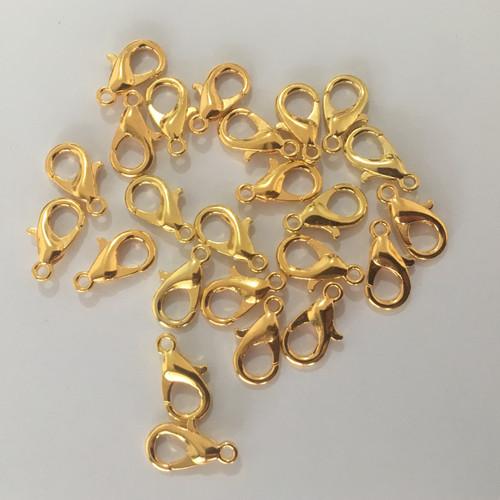Foto Produk Kokot Udang 14mm Gold Per pcs dari Toko Alat Jahit Batam