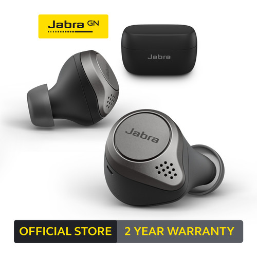 Foto Produk Jabra Elite 75t True Wireless Earbud Titanium Black dari JABRA OFFICIAL STORE