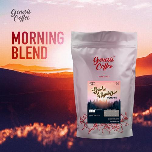 Foto Produk MORNING BLEND COFFEE // ARABICA ROBUSTA BLEND - BIJI dari Genesis Coffee