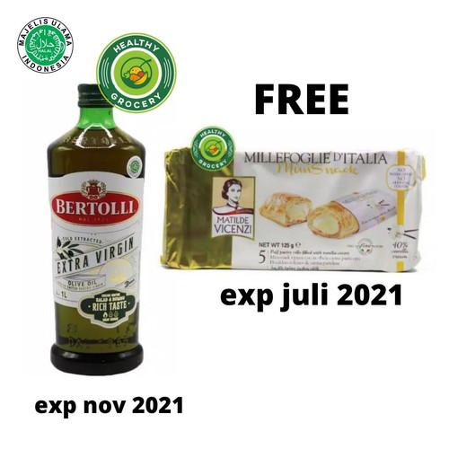 Foto Produk Bertolli Extra Virgin Olive Oil 1 liter dari healthygrocery