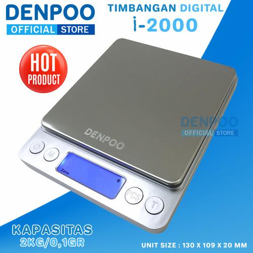 Foto Produk Timbangan Digital 2KG / 0,1gr Kopi Dapur Drip Coffe Scale Digital dari DENPOO OFFICIAL STORE