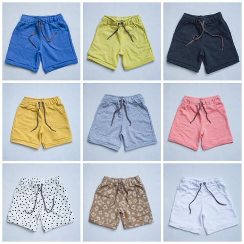 Foto Produk celana pendek anak/perempuan/laki laki/ 1-5 thn/ random - perempuan randm, 0-6 bln dari aneema