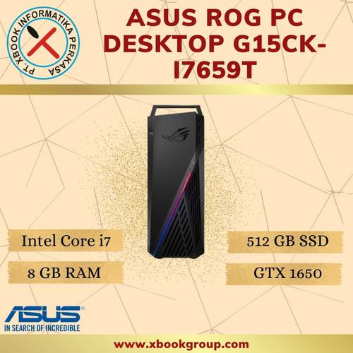 Foto Produk ASUS ROG PC Desktop G15CK-I7659T [Intel Core i7 |RAM 8 GB |512GB SSD] dari Majujaya Computer