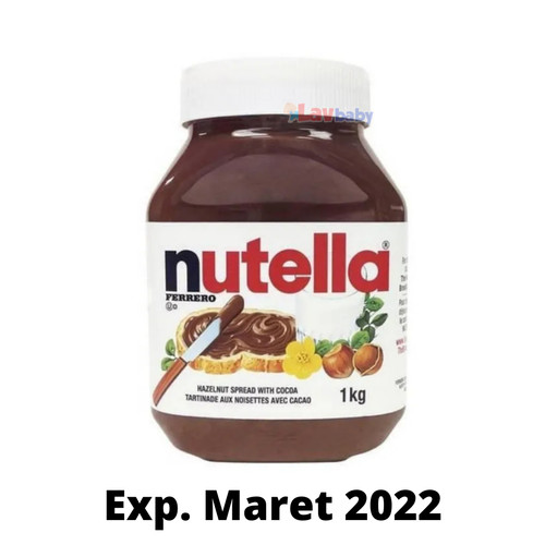 Foto Produk TS - Nutella Spread Selai Coklat 1000gr 1kg - Packing Std dari LAV Baby