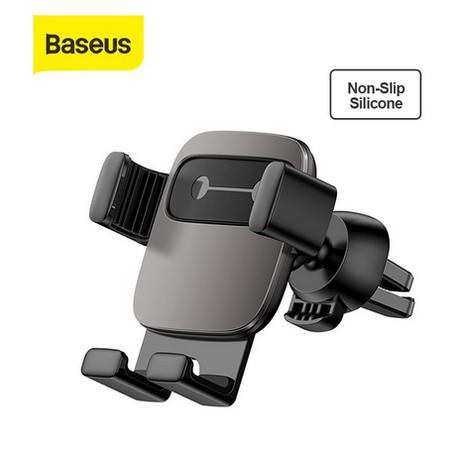Foto Produk BASEUS CAR HOLDER AIR VENT CUBE GRAVITY MOBILE PHONE CAR MOUNT - Hitam dari Baseus Auto Life