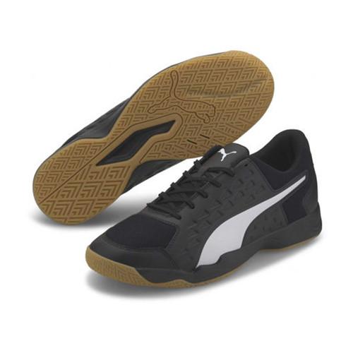 Foto Produk Sepatu Sport Indoor PUMA AURIZ Black with Gum ORIGINAL - 42.5 dari PUMA Outlet Kreo