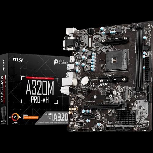 Foto Produk MSI A320M PRO VH AMD AM4 A320M PRO-VH AMD Socket AM4 - Motherboard dari dHafie Computer