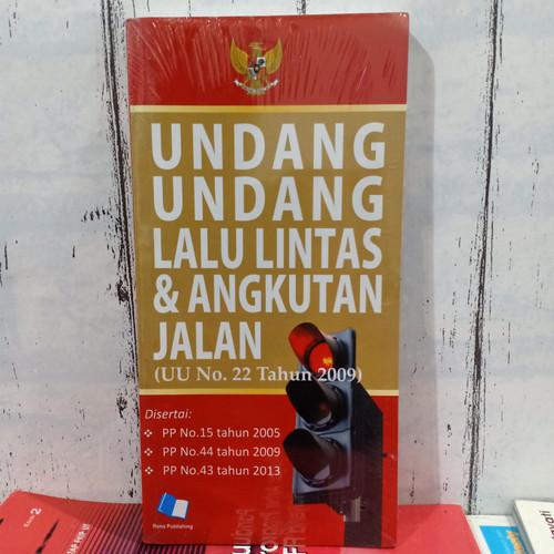 Foto Produk BUKU Undang-undang Lalu Lintas & Angkutan Jalan UU No 22 Tahun 2009 dari toko buku indra